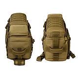 Тактический однолямочный рюкзак Protector Plus X213, фото 5