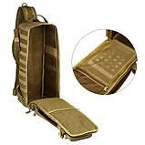 Тактический однолямочный рюкзак Protector Plus X213, фото 6
