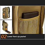 Тактический однолямочный рюкзак Protector Plus X213, фото 9
