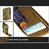 Тактический однолямочный рюкзак Protector Plus X213, фото 10
