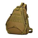 Тактический однолямочный рюкзак Protector Plus X214, фото 2