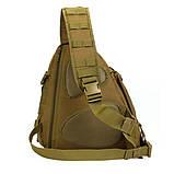 Тактический однолямочный рюкзак Protector Plus X214, фото 5