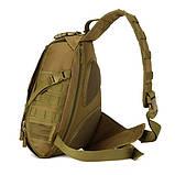 Тактический однолямочный рюкзак Protector Plus X214, фото 6