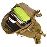 Тактический однолямочный рюкзак Protector Plus X214, фото 10