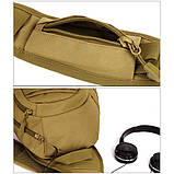 Тактический однолямочный рюкзак Protector Plus X204, фото 8