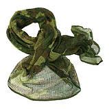 Снайперська маскувальна сітка-шарф, фото 6
