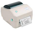 Принтер этикеток, термопринтер штрих кодов, QR кодов Xprinter XP-450B - UL USB + LAN 110mm, фото 2