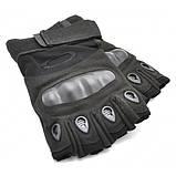 Тактические перчатки беспалые с костяшками Oakley (Replica), фото 6