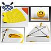 Надувная САП доска Ладья Yoga SUP-Board 320x82x15 см + весло + лиш + плавник + насос + рюкзак, Украина, фото 2