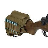 Подсумок для патронов с подщечником на винтовочный приклад, фото 4