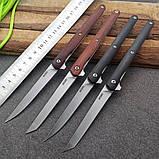 Нож Fisherman Slim Wood Flipper TC026, фото 2