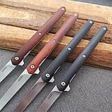 Нож Fisherman Slim Wood Flipper TC026, фото 4