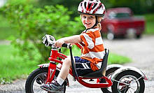Детские трехколесные велосипеды-коляски