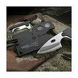 Мультитул Tool Logic Credit Card Companion, фото 7
