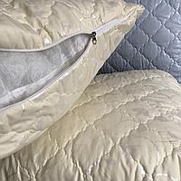 Подушка на холлофайбере 50*70 см. ODA с наволочкой на замке.