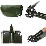 Армейская многофункциональная лопатка WJQ-308, фото 3