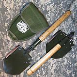 Армейская многофункциональная лопатка WJQ-308, фото 7