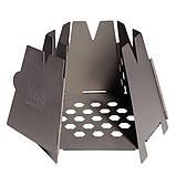 Титановая печка щепотница Vargo Titanium Hexagon Wood Stove, фото 2