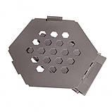 Титановая печка щепотница Vargo Titanium Hexagon Wood Stove, фото 3