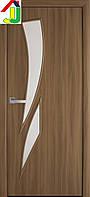 Дверь межкомнатная Новый стиль Камея Экошпон Модерн Ольха 3D