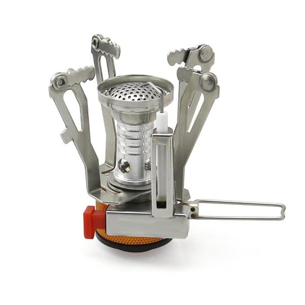 Компактная складная газовая горелка AOTU T6312-A (пьезо)