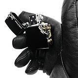 Зажигалка ZORRO Z9801 Black, фото 2