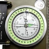 Армейский призматический компас K4074 с уровнемером, фото 4