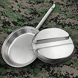 Набор посуды из нержавеющей стали GI Type Mess Kit, фото 2