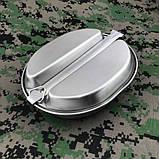 Набор посуды из нержавеющей стали GI Type Mess Kit, фото 4