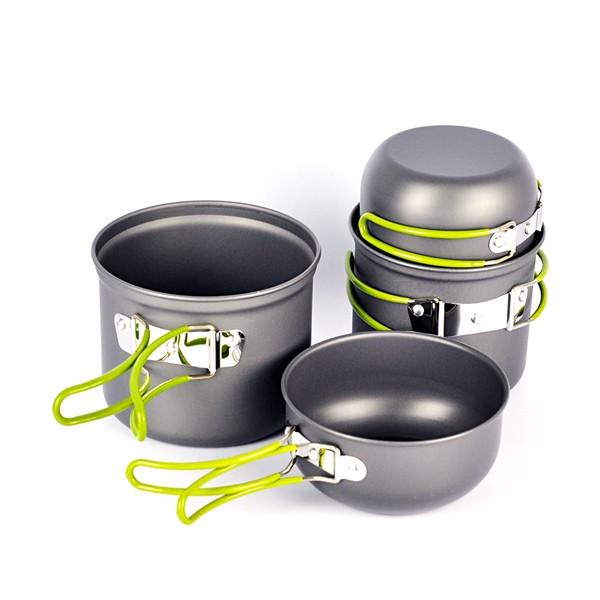 Набор туристической посуды DS-201 (для 2 персон)