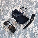 Тактические баллистические очки Uvex Genesis Spectacle Kit, фото 6