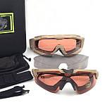 Тактические очки Oakley SI Ballistic M Frame Alpha Operator Kit (Replica), фото 7