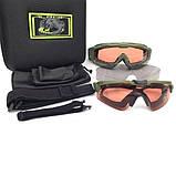Тактические очки Oakley SI Ballistic M Frame Alpha Operator Kit (Replica), фото 8