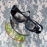Баллистические очки GX1000 Military Kit, фото 8