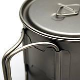 Титановая кружка Toaks Titanium 550 ml, фото 6