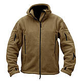 Тактическая флисовая куртка Han Wild Tactical, фото 2