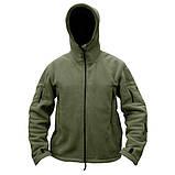 Тактическая флисовая куртка Han Wild Tactical, фото 4
