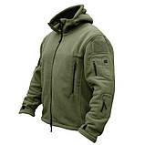 Тактическая флисовая куртка Han Wild Tactical, фото 5