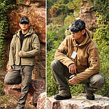 Тактическая флисовая куртка Han Wild Tactical, фото 6
