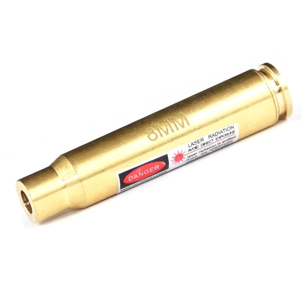 Лазерный патрон для холодной пристрелки калибр 8 мм