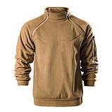 Тактический флисовый свитер утепленный Free Soldier AA0064, фото 3