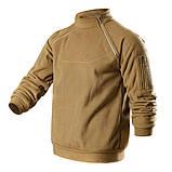 Тактический флисовый свитер утепленный Free Soldier AA0064, фото 4