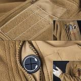 Тактический флисовый свитер утепленный Free Soldier AA0064, фото 6