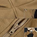 Тактический флисовый свитер утепленный Free Soldier AA0064, фото 7