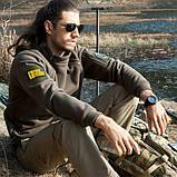 Тактический флисовый свитер утепленный Free Soldier AA0064, фото 10