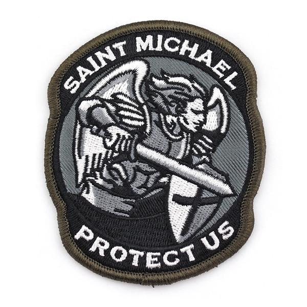 Патч Архангел Михайло Saint Michael Protect Us
