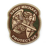 Патч Архангел Михаил Saint Michael Protect Us, фото 2