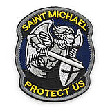 Патч Архангел Михаил Saint Michael Protect Us, фото 4
