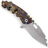 Нож Todd Heeter MOW 169 Tanto Titanium (Replica), фото 2