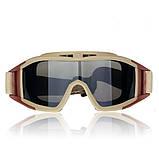 Тактические очки-маска Revision Desert Locust (Replica), фото 6